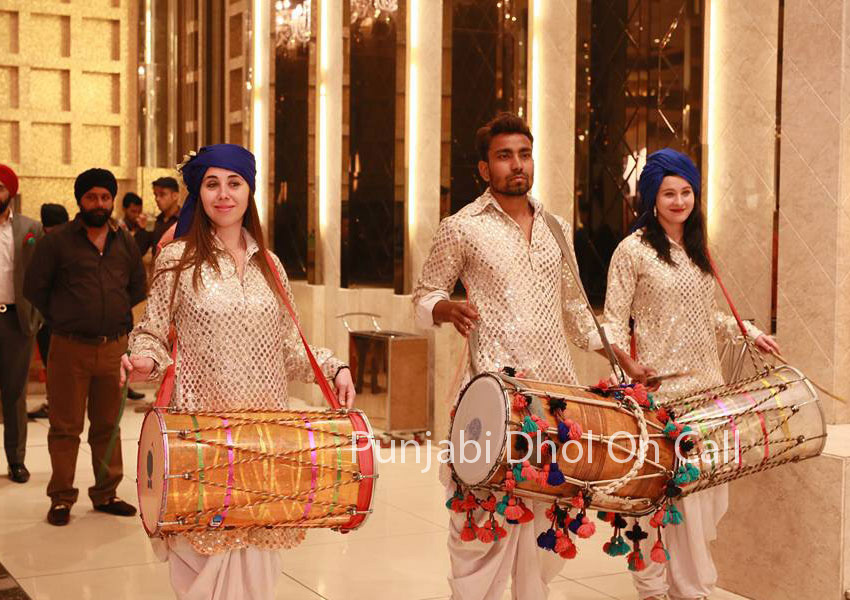 Russian Dhol For Weddings